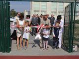 Otwarcie nowego wielofunkcyjnego boiska w Ociążu